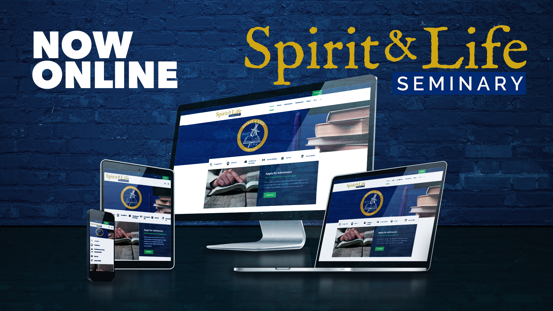 Spirit and Life Seminary Website Launched